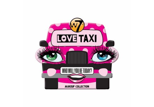 W7 Cosmetics Love Taxi Tin Make Up Collection