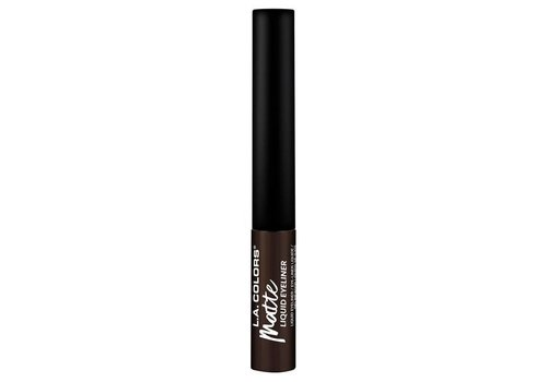 LA Colors Liquid Eyeliner Matte Dark Brown