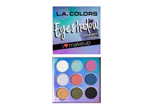 LA Colors Eyeshadow Palette Holographic