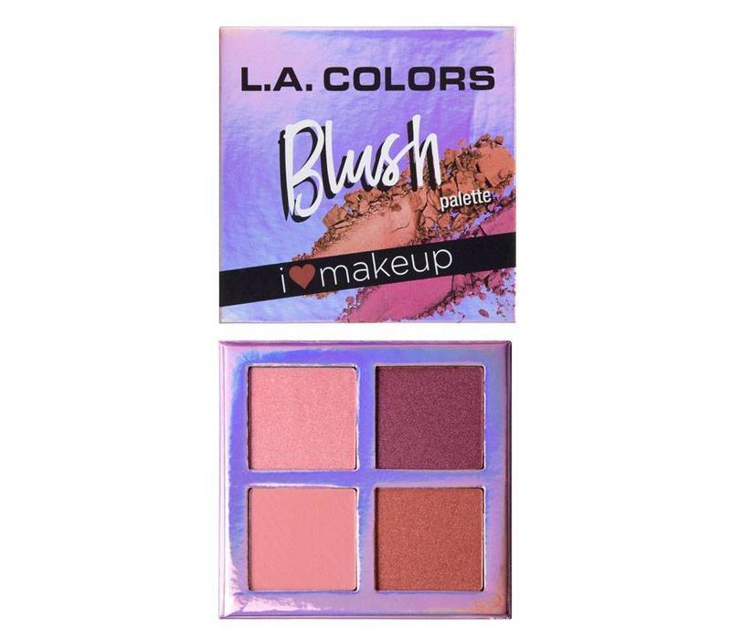 LA Colors Blush Palette Getting Gorgeous