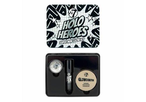 W7 Cosmetics Holo Heroes Super Mini Glow Kit