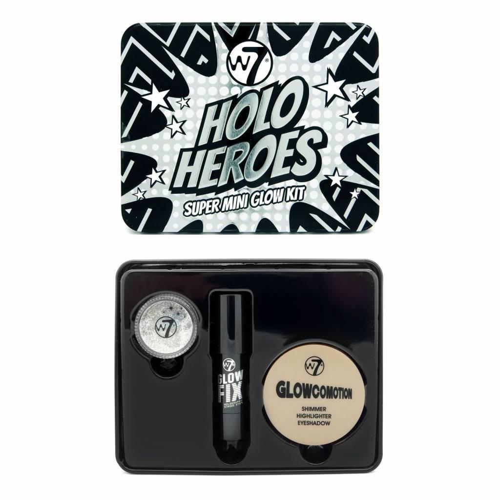Buy W7 Holo Heroes Super Mini Glow Kit Online City Color Primer Oil