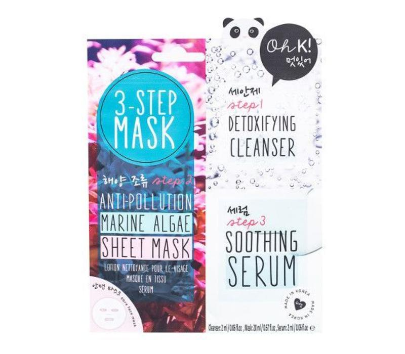 Oh K! 3-Step Seaweed Mask