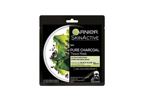 Garnier Skincare Pure Charcoal Tissue Masker