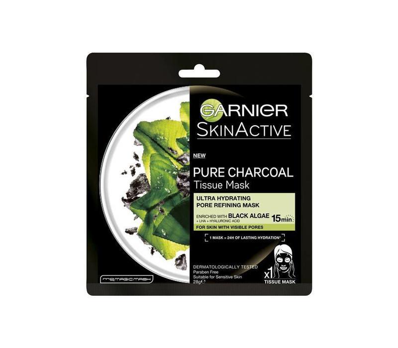 Garnier Skincare SkinActive Pure Charcoal Tissue Masker