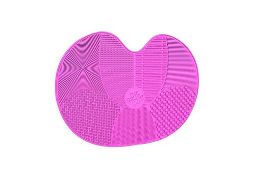 The Brush Tools Brush Cleaning Mat Pink