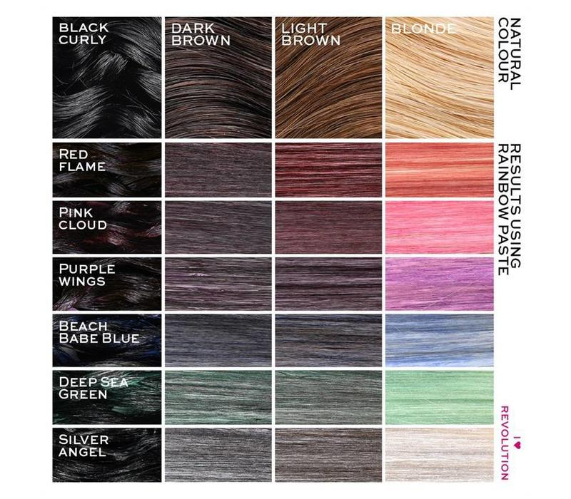I Heart Revolution Rainbow Paste Purple Wings