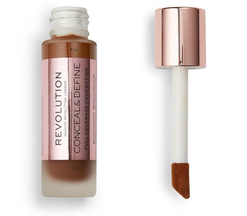 Makeup Revolution Conceal & Define Foundation F16