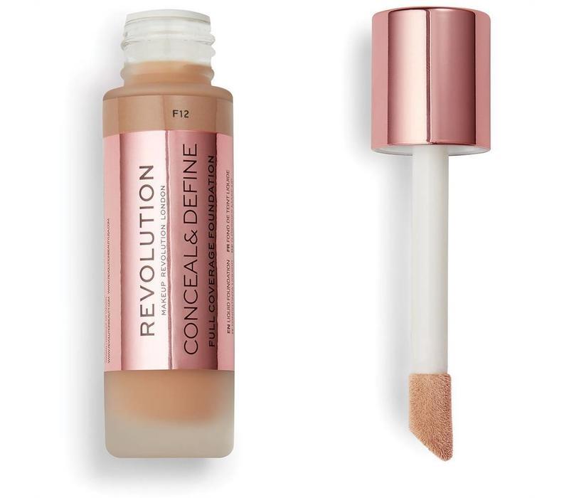 Makeup Revolution Conceal & Define Foundation F12