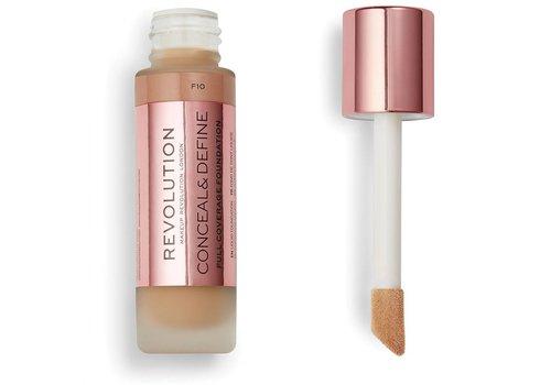 Makeup Revolution Conceal & Define Foundation F10
