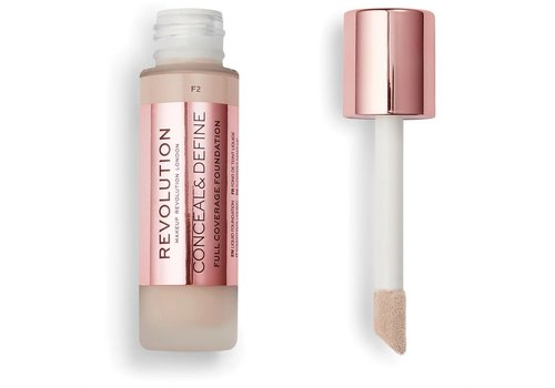 Makeup Revolution Conceal & Define Foundation F2