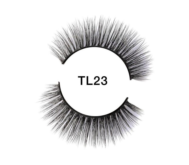Tatti Lashes 3D Brazilian Silk Hair TL23