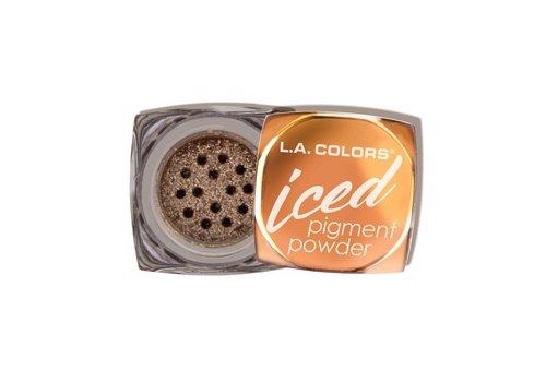 LA Colors Iced Pigment Powder Glowing