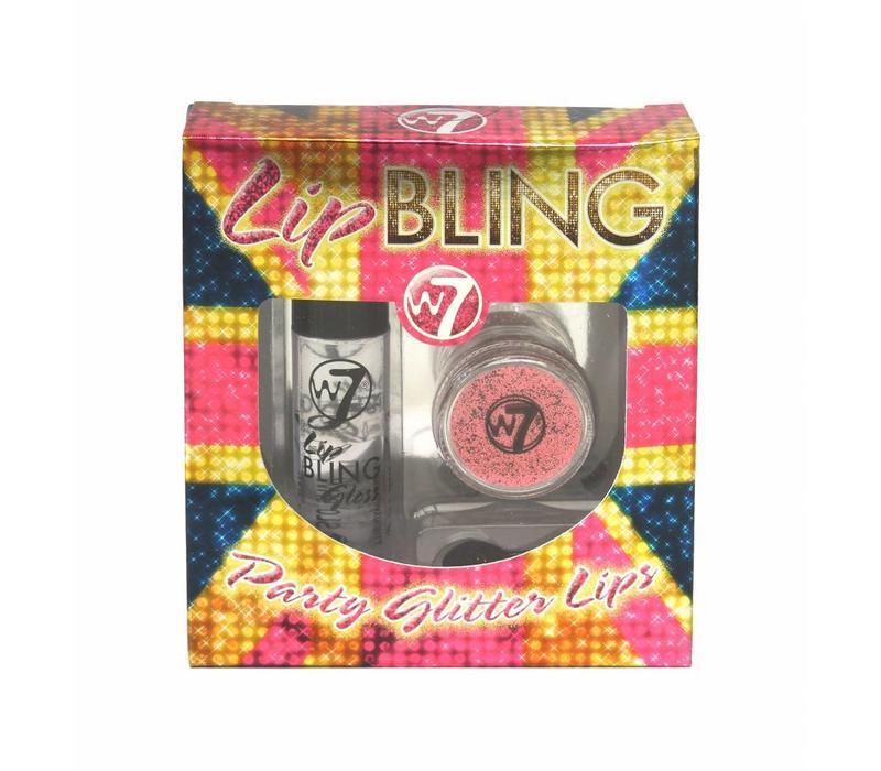 W7 Lip Bling Pink Rose