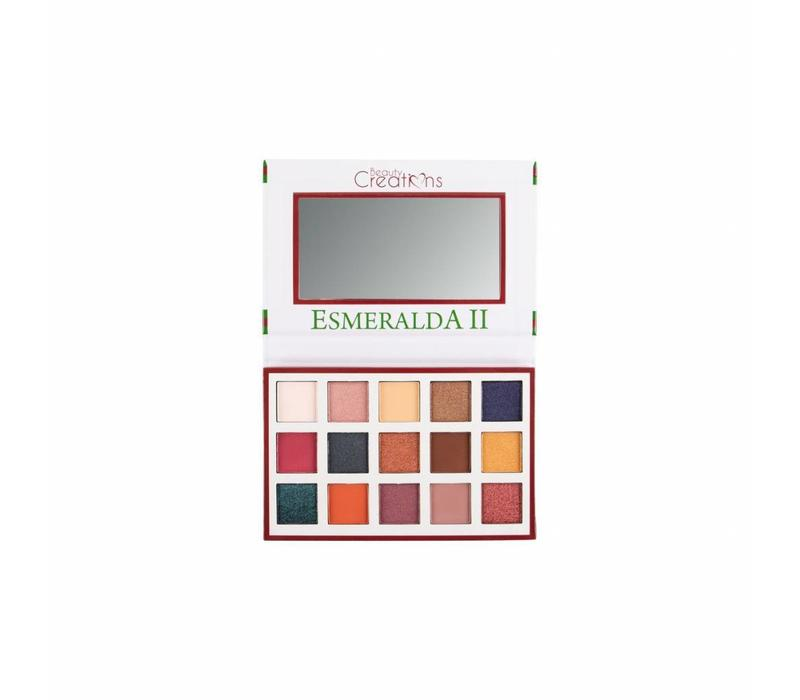 Beauty Creations 15 Color Eyeshadow Palette Esmeralda II