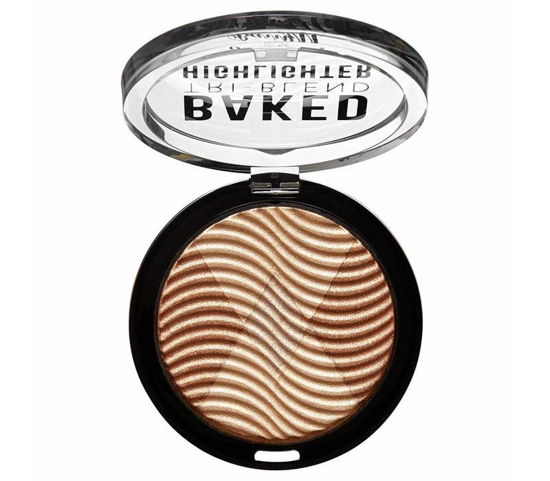 Barry M Baked Tri-Blend Highlighter Bronze Deco