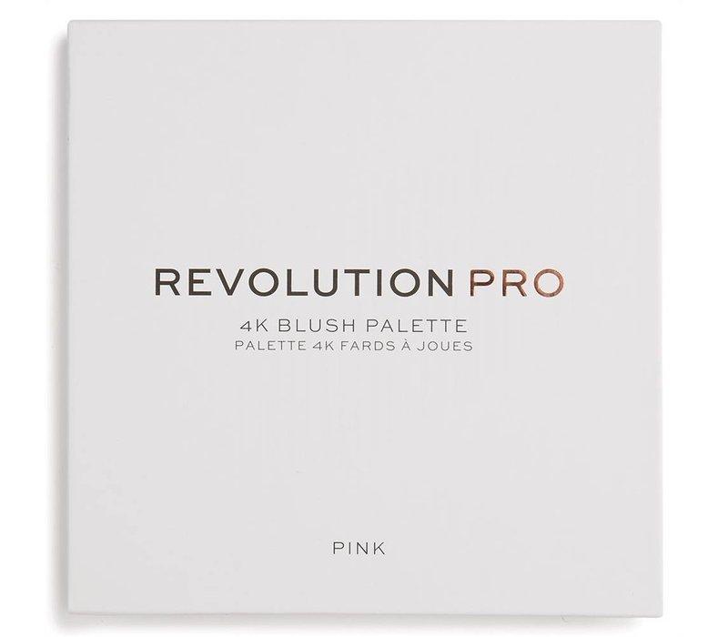 Revolution Pro 4K Blush Palette Pink