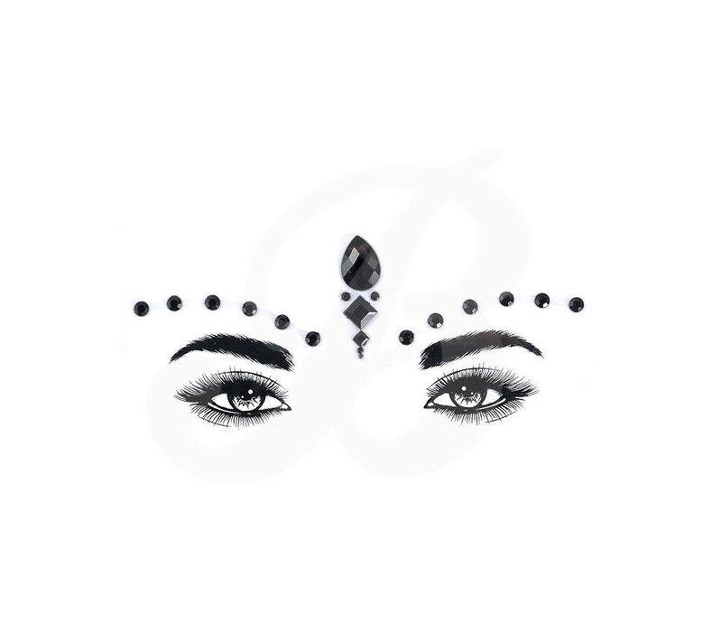 Festival Face Face Gems Ayla II Black
