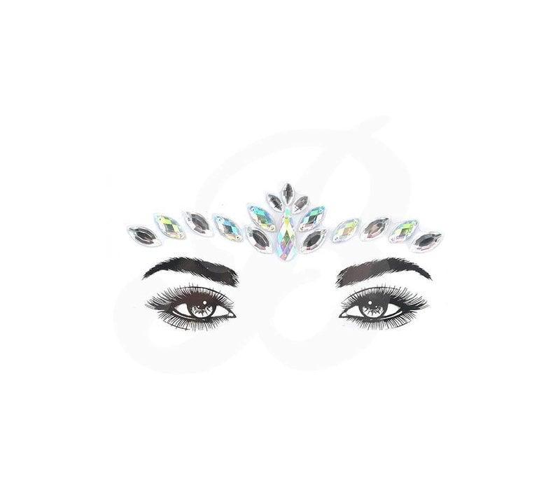 Festival Face Face Gems Lyra Silver Stone