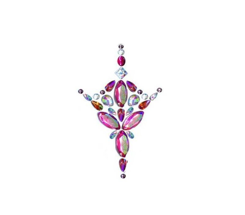 In Your Dreams Jewelled Chestpiece Pink Azalea