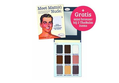 TheBalm Meet Matte Palette