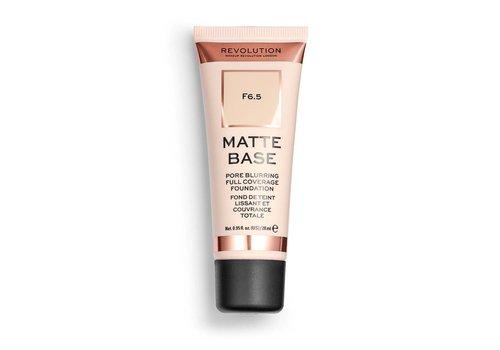 Makeup Revolution Matte Base Foundation F6.5
