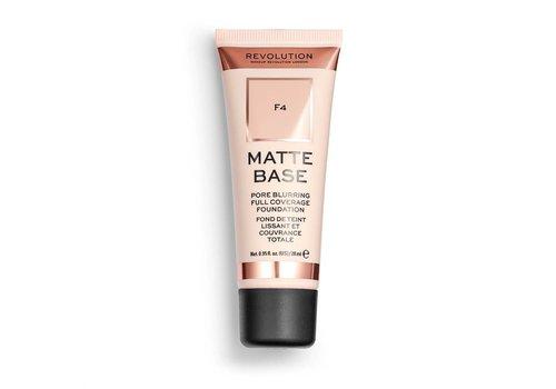 Makeup Revolution Matte Base Foundation F4
