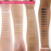 Makeup Revolution Conceal & Define Foundation F10.5