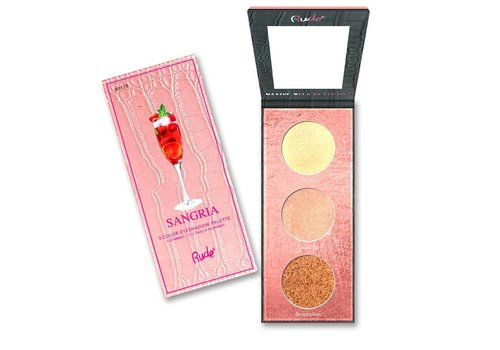 Rude Cosmetics Cocktail Party Luminous Highlight Palette Sangria