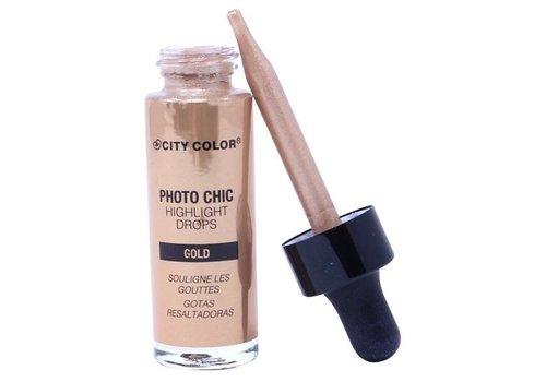 City Color Photo Chic Highlight Drops Gold