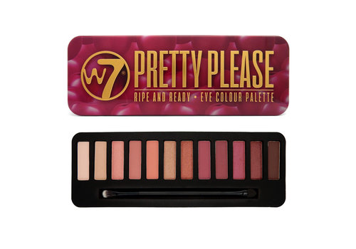 W7 Cosmetics Pretty Please Eyeshadow Palette