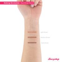 Makeup Revolution Duo Brow Pencil