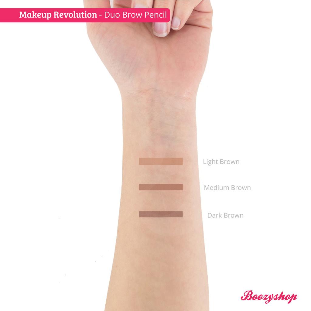 Buy Makeup Revolution Duo Brow Pencil Online Boozyshop Boozyshop Com