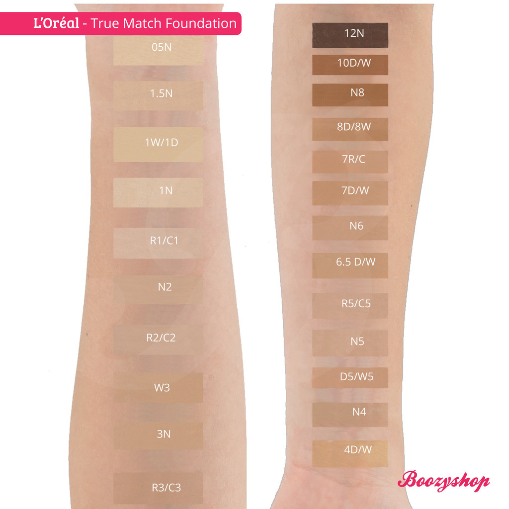 Buy L Orealparis True Match Foundation Online Boozyshop Boozyshop Com