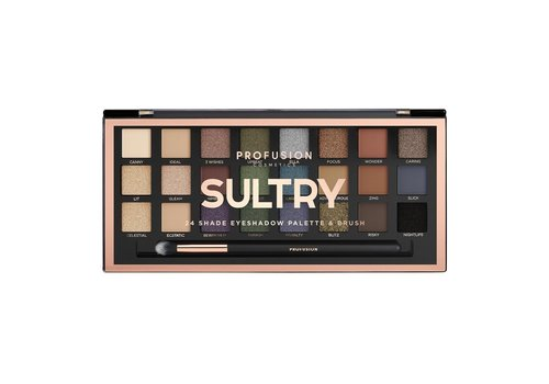 Profusion Sultry 24 Shades Eyeshadow Palette
