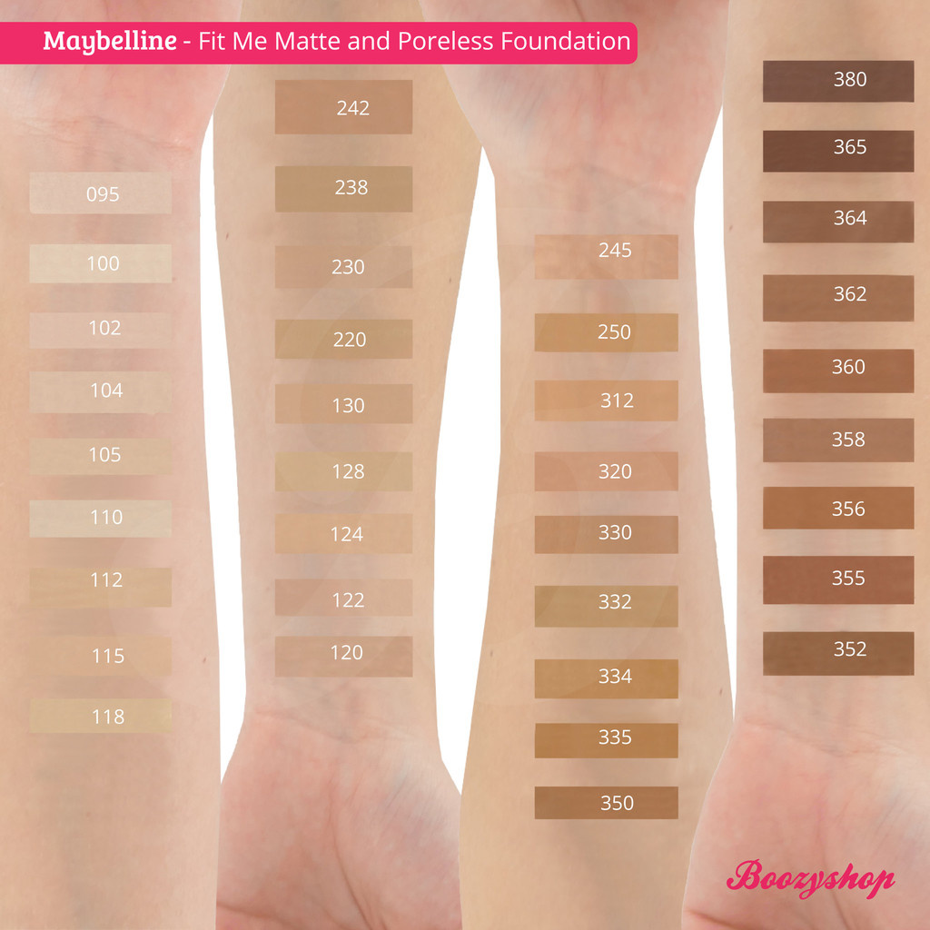 Buy Maybelline Fit Me Matte And Poreless Foundation Online Boozyshop Boozyshop Com