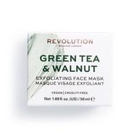 Revolution Skincare Green Tea & Walnut Exfoliating Face Mask