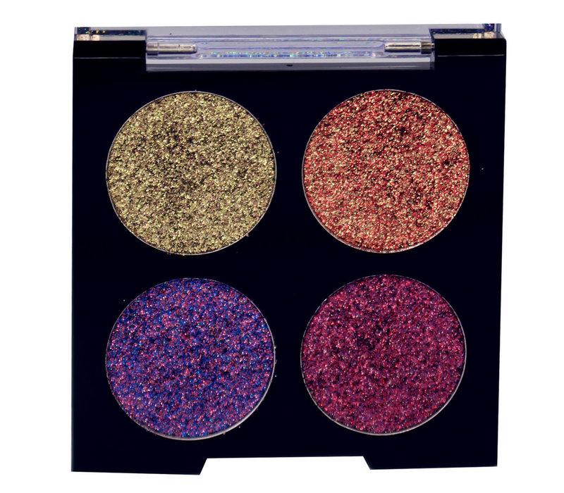 City Color Glitter Quad II Eyeshadow Palette