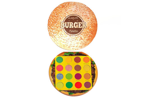Glamlite Hamburger Eyeshadow Palette