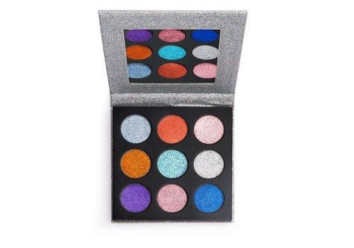 Makeup Revolution Pressed Glitter Palette Illusion