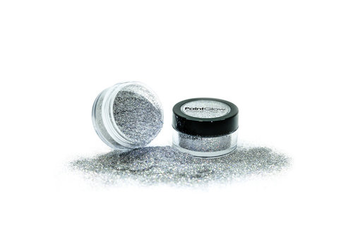 PaintGlow Holographic Dust Shakers Silver