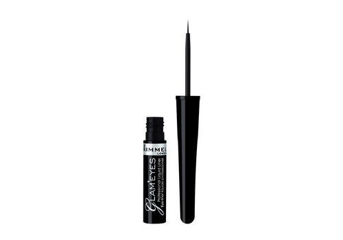 Rimmel London Glam'Eyes Professional  Liquid Eyeliner Black Glamour