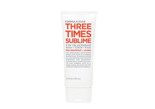 Formula 10.0.6 Three Times Sublime Wash Scrub Mask