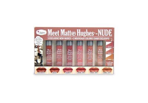 TheBalm Meet Matte Hughes Nude Liquid Lipstick Set
