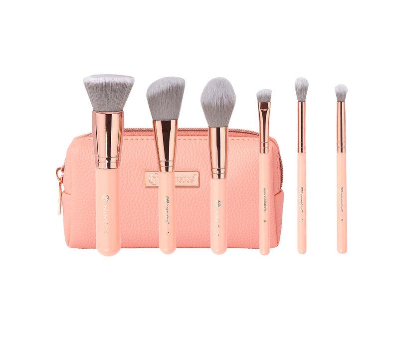 BH Cosmetics Mini Pink Perfection Brush Set
