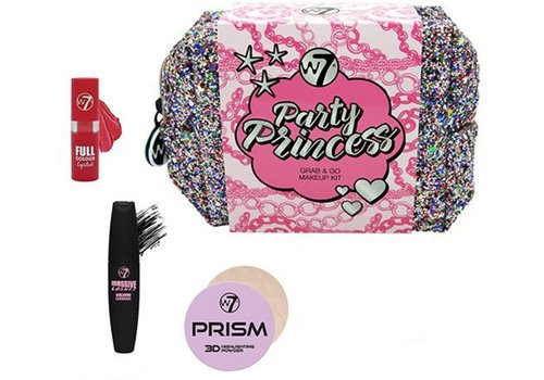 W7 Cosmetics Party Princess Grab & Go Glitter Set