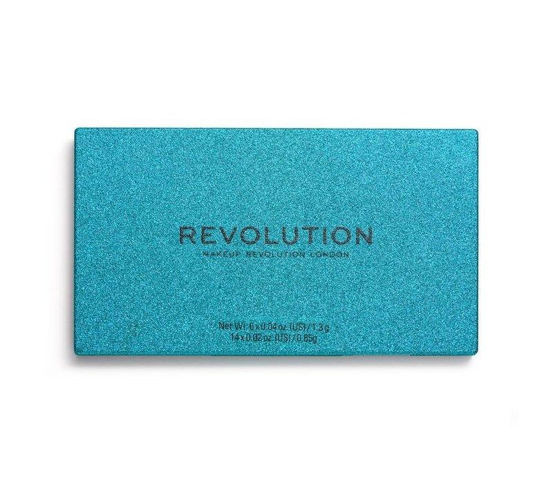 Makeup Revolution Precious Stone Shadow Palette Emerald