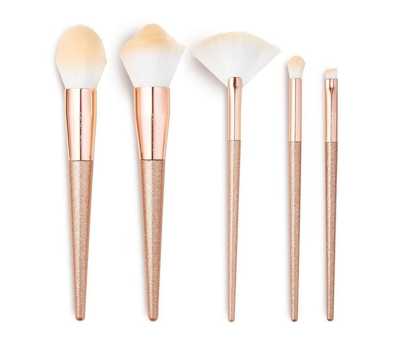 Makeup Revolution Precious Stone Brush Set Rose Quartz