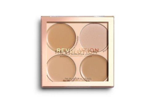 Makeup Revolution Matte Base Concealer Kit C5 - C8