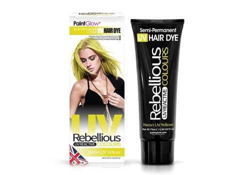 PaintGlow UV Semi-Permanent Hair Dye Yellow